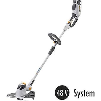 Battery Grass trimmer w/o battery, + wheels 48 V ALPINA