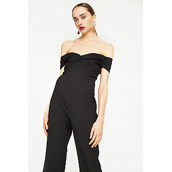 Foxie Dox Off-The-Shoulder Overall