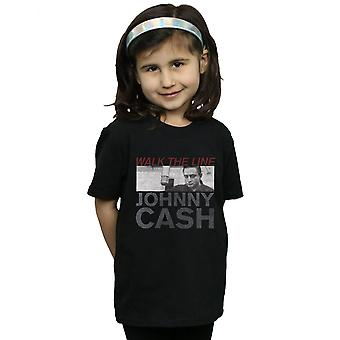 Johnny Cash Girls Studio Shot T-Shirt