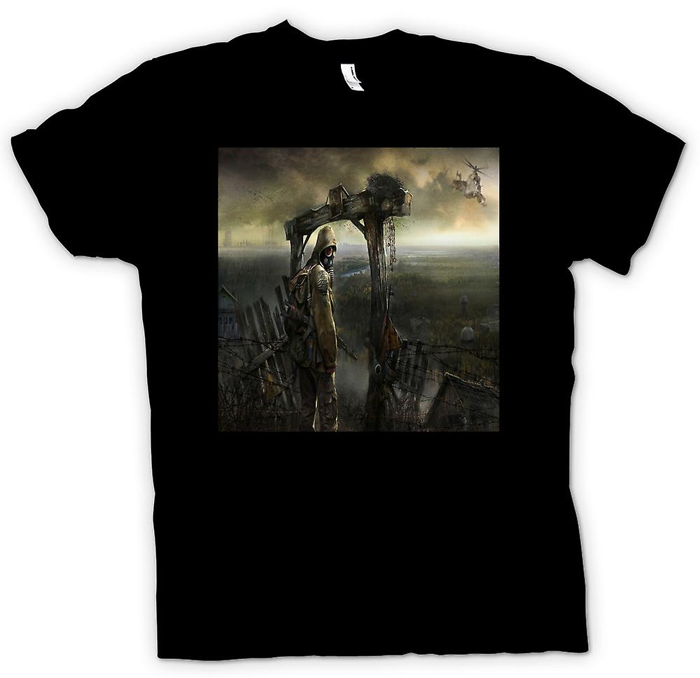 Mens T-shirt - Post Apocolyptic Fantasy Design