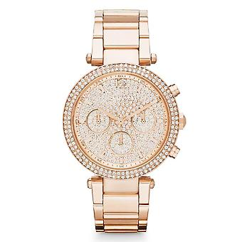 Michael Kors Ladies' Parker Chronograph Watch MK5857