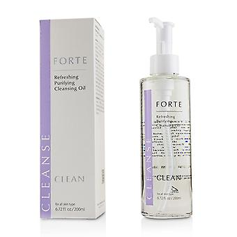 FORTE CLEAN Refreshing Purifying Cleansing Oil 200ml/6.72oz