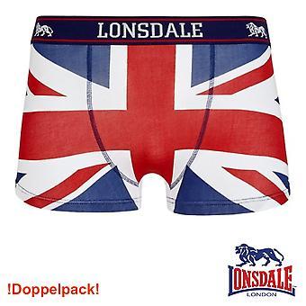 Lonsdale mens boxershort Tisbury - double back