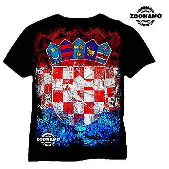 Zoonamo T-Shirt Croatia of classic