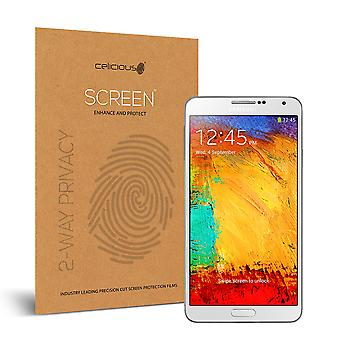 Celicious Privacy 2-Way Anti-Spy Filter Screen Protector Film Compatible with Samsung Galaxy Note 3