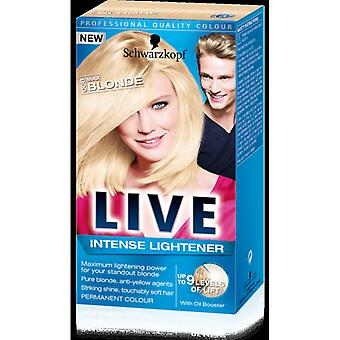 Schwarzkopf Live Intense Lightener - Max Blonde (00B)