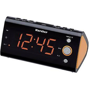 Karcher UR 1040 FM Radio alarm clock FM Orange