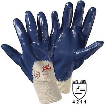 Cotton, Nitrile butadiene rubber Protective glove EN 388:2016 CAT II L+D worky Cross Nitril 1450C 1 pc(s)