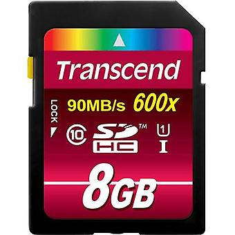 Transcend Ultimate SDHC card 8 GB Class 10, UHS-I
