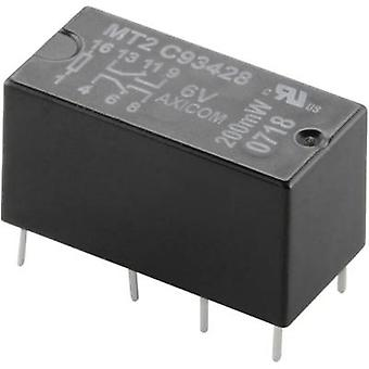 TE Connectivity C93419 PCB relays 24 Vdc 2 A 2 change-overs 1 pc(s)