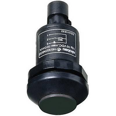 Elobau 145000AB-BK Pushbutton 48 V DC AC 0,5 A 1 x Off (On) IP67 momentanée 1 PC (s)