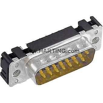 Harting 09 65 161 6712 D-SUB pin strip 180 ° Number of pins: 9 Soldering 1 pc(s)