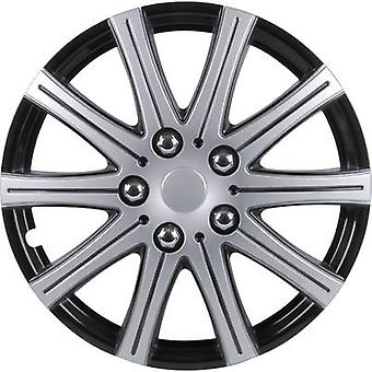 cartrend Adelaide Wheel trims R16 Grey (metallic), Black (metallic) 4 pc(s)