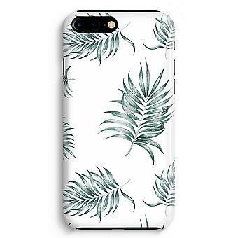 iPhone 8 Plus Full Print Case - Simple leaves