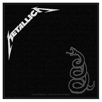 Metallica Black Sew-On Cloth Patch 100Mm X 100Mm