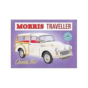 Morris Minor Traveller acero signo