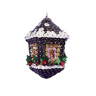 Pinflair Sequin & Pin Lantern Bauble Ornaments - Makes 2