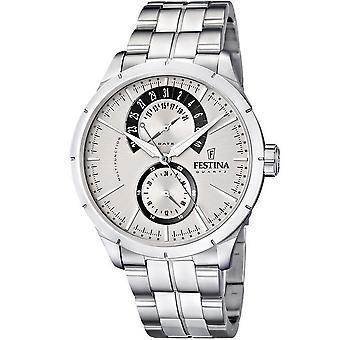 FESTINA - men's watch - F16632/1 - retrograde - classic