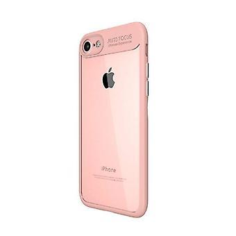 Stuff Certified® iPhone 6 - オート フォーカス鎧ケース カバー Ca シリコーン TPU ケース ピンク