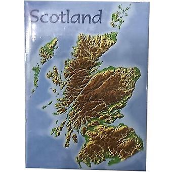 Schottland Karte Magnet von Lyrical Schottland