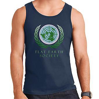 Flat Earth Society Men's Vest