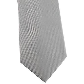 David Van Hagen Diagonal Ribbed Tie - Cyan