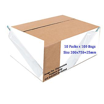 Sapphire Roll Wraps White Carrier Bags Box