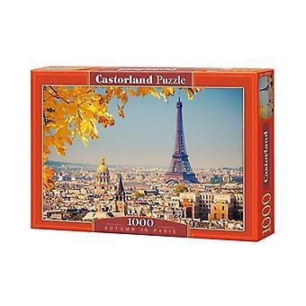 Castorland autumn Paris 1000pcs puzzle