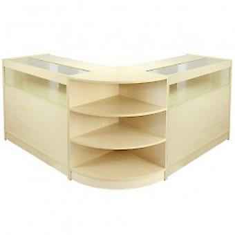 Libra Maple Shop Counter & Retail Display Set