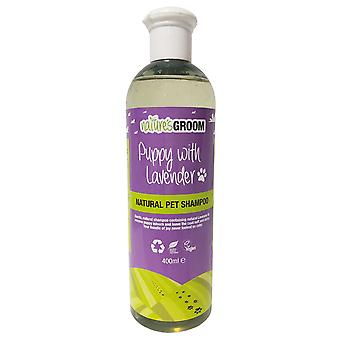 Natures Groom Puppy With Lavender Shampoo 400ml
