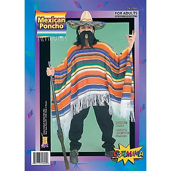 Mexican Poncho. Packaged.