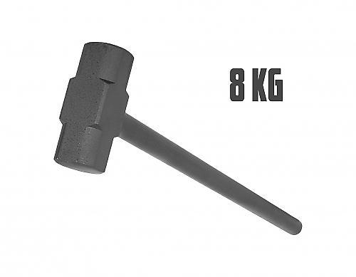 Marteau en acier de gymnastique 8kg