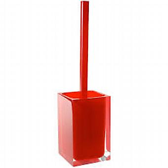 Rainbow Toilet Brush Glossy Red RA33 06