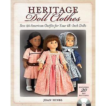 Vetements pour poupee patrimoine - coudre 20 tenues américaines pour vos poupées de 18 pouces
