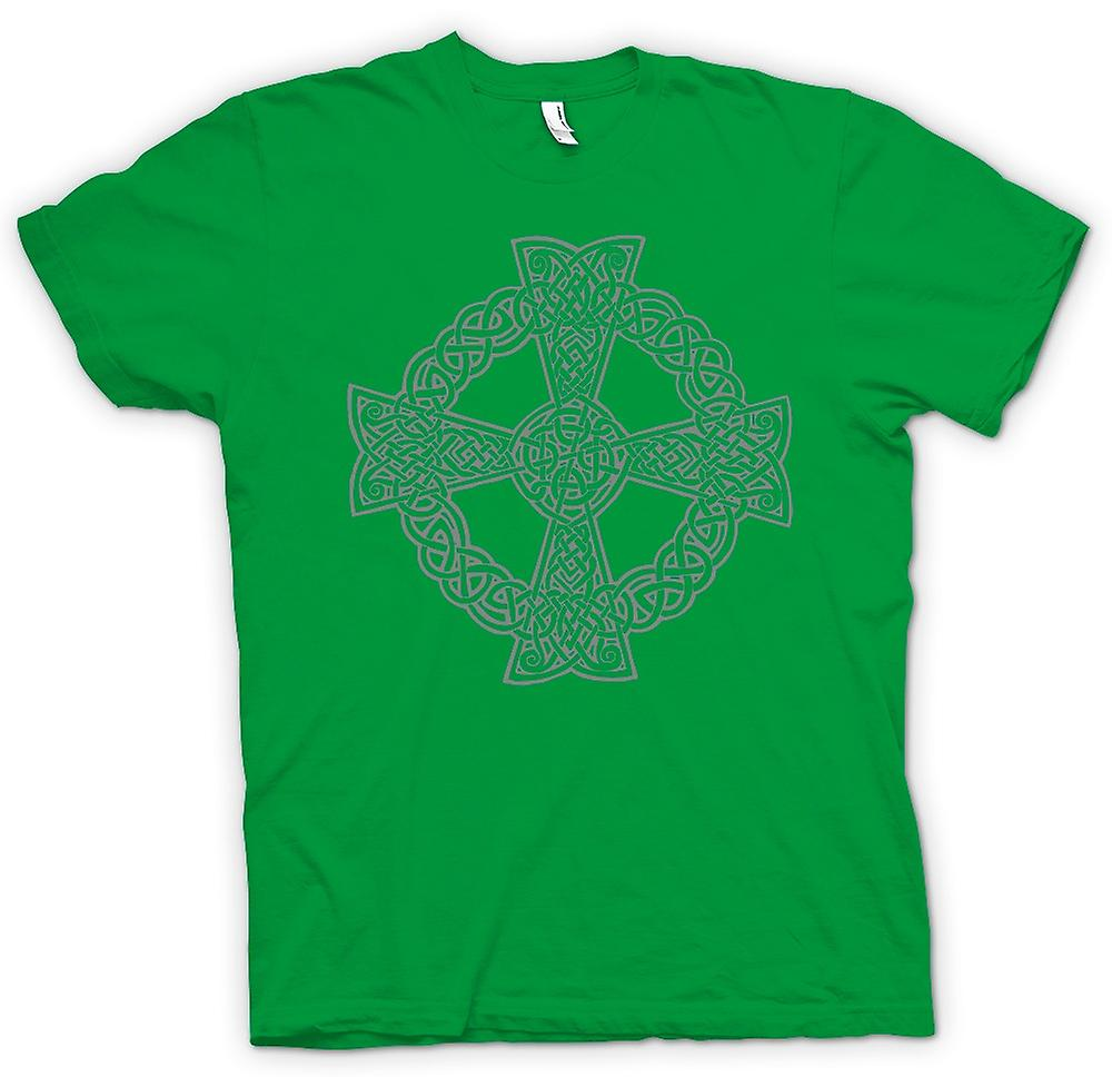 Mens T-shirt - Celtic Cross 1 - Tattoo Design