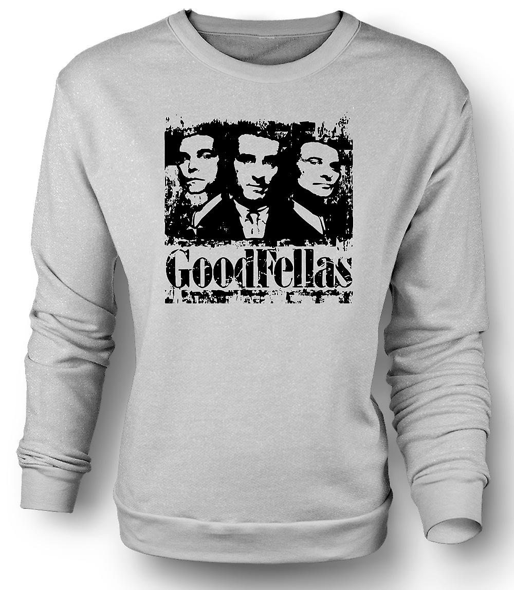 Mens Sweatshirt Goodfellas - Distressed Mafia