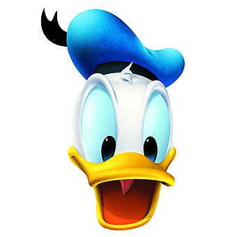 Donald Duck Karte Face Mask