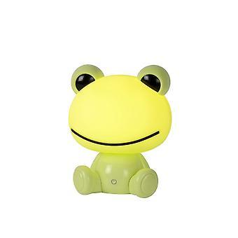 Lampada da tavolo classico Abs verde di lucide Dodo rana