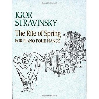 The Rite of Spring for Piano Four Hands (Dover Classical Music for Keyboard)