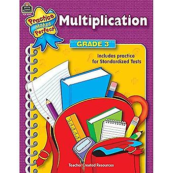 Practice Makes Perfect: Multiplication Gr-3