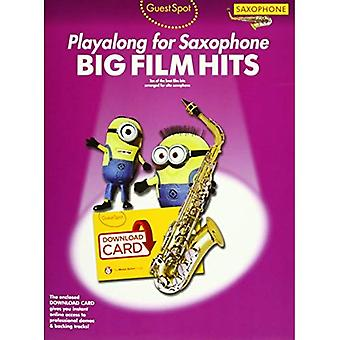 Guest Spot: Big Film Hits Playalong For Alto Saxophone