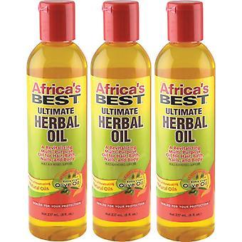 Africa's Best Ultimate Herbal Oil 235 ml (3-PACK)