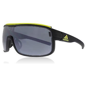 Adidas AD01 6054 Coal Matte Zonyk Pro L Visor Sunglasses Lens Category 3 Lens Mirrored Size 46mm