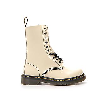 Marc Jacobs Beige Leather Ankle Boots
