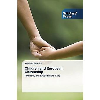 I bambini e la cittadinanza europea di Petrova Teodora