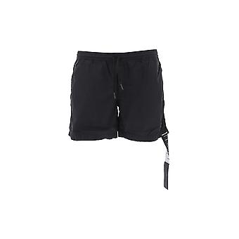 Nemen Black Nylon Trunks