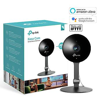 TP-Link KC120 Kasa Smart Indoor Security Camera, Works with Alexa, Google Home and IFTTT, 1080p HD, 2-Way Audio with Night Vision