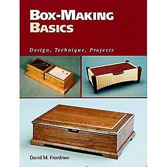 Fabrication de boîte de bases: Projet de conception, Technique,