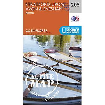 Stratford-Upon-Avon and Evesham (September 2015 ed) by Ordnance Surve