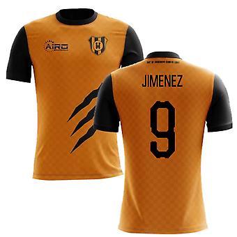 2019-2020 Wolverhampton Home Concept Football Shirt (Jimenez 9)